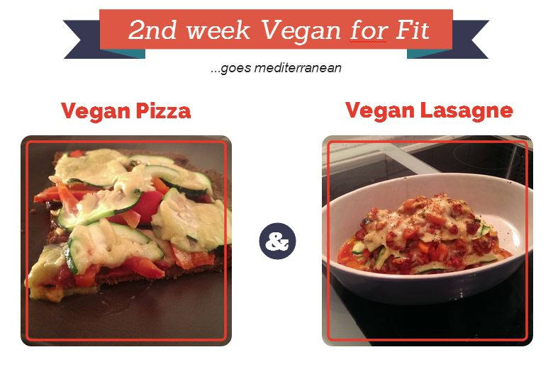2nd week vegan for fit
