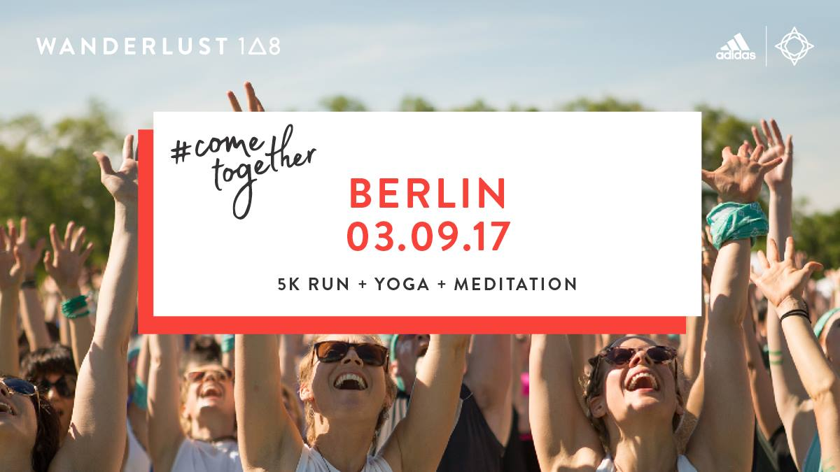 Wanderlust 108 – Win tickets for the Mindful Triathlon in Berlin