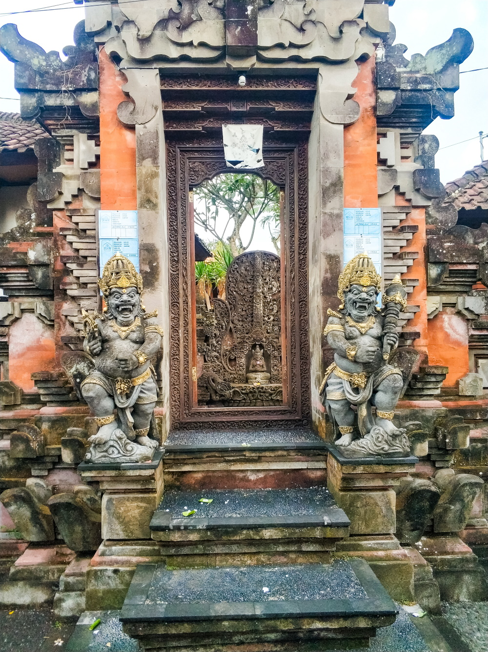 The beautiful doors and gates of Ubud, Bali.